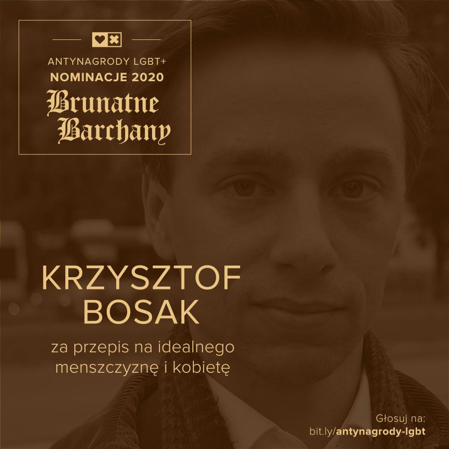 Antynagrody LGBT+ Miłość Nie Wyklucza Krzysztof Bosak
